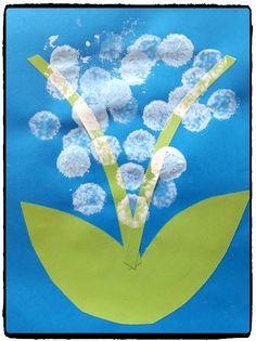 Nous voilà bientôt arrivé au 1er mai, les enfants ont donc réalisé leurs muguets  J'adore ces petites fleurs très parfumantes. D'ailleurs comme j'en avait à la maison dans des …