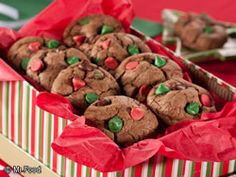 Chocolate Candy Cookies | mrfood.com