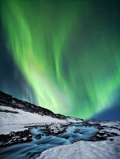 Iceland- I would love to see the Northern Lights.