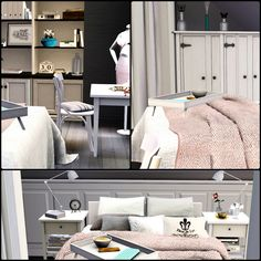 Simberry / Romance Ave. / Sims 3 / Downloads / MAster Bedroom / romantic