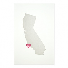california print - grey
