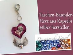 Nespresso Kapsel Schmuck Anleitung - pinke Halskette - die magische (Kaffee-) Kapsel - YouTube