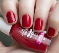 Seta Vermelha, Colorama | Esmalte do dia!