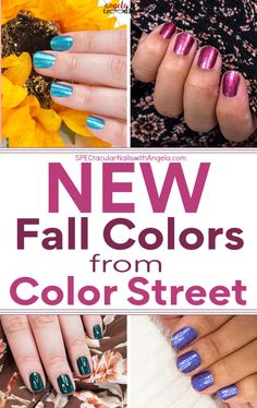 Color Street helps busy women feel put together and good about how they look by providing a quick, easy, budget friendly alternative to going to a nail salon. Get fall ready nails in minutes with Color Streets updated fall nail inspiration. Style your nails this season with a gorgeous color everyone will love. #fallnaildesign #autumnnaildesign #autumnclassyfallnaildesign