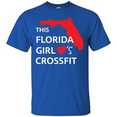 Florida Girl Crossfit Shirts This  Girl Loves Crossfit T-shirts Hoodies Sweatshirts