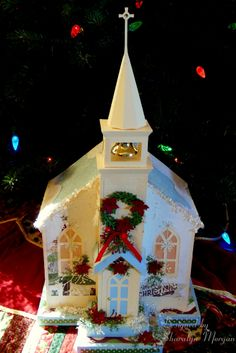 New Blog Post Featuring SVG Cuts Church. Check out my Blog for details...  http://sharaspapercreations-sharalyn.blogspot.com/2013/12/christmas-is-in-air.html