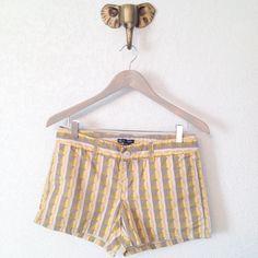 GAP Tribal Print Shorts Adorable GAP Factory tribal print shorts perfect for summer weather! 100% cotton. Size 2 GAP Shorts