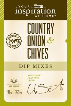Country Onion and Chives Dip Mix The mouth-watering taste of slow-roasted onions in an easy-to-use, versatile blend. Simple add this dip mix to make your meat balls, hamburgers or rissoles gourmet! Roasted Onions, Dips, Hamburgers, Make It Yourself, Balls, How To Make, Addiction, Inspiration, Meat