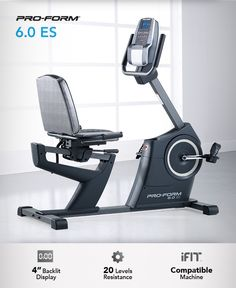 The recumbent bike is famous for stability, comfort and effectiveness. We decided to up the ante with the latest technology as well. #Fitness