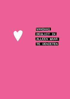 Intens genieten begint vooraan! http://babyboomersdiegenieten.blogspot.nl