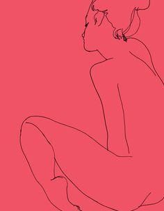 N (Madelaine. Sitting), Ed Hodgkinson – CultureLabel