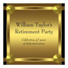 15 best retirement party invitation templates images on pinterest