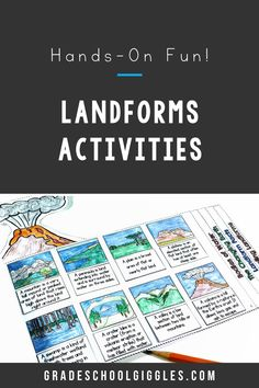 I LOVE teaching landforms! It's such a fun unit for kids! This printable flipbook makes teaching the different types of landforms and bodies of water easy and the hands-on landforms project is so much fun for the kids. Your kids will learn so many new vocabulary terms like plateau, isthmus, peninsula, plain, delta, and valley as they complete the activities in the booklet. Then, they'll get to put their new geography knowledge to use as they design and build a salt dough model of an island.