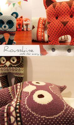 Rousskine handmade knit doll montreal2 copy