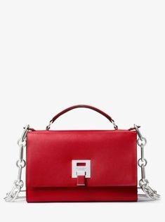 Bancroft Calf Leather Shoulder Bag