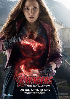 Avengers - Age Of Ultron - Marvel - Wanda Maximoff / Scarlet Witch (Elizabeth Olsen) - kulturmaterial