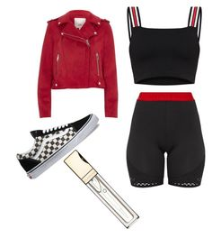 """""""2.26"""" by beamiller1001 on Polyvore featuring Pretty Little Thing, River Island and Clarins"""