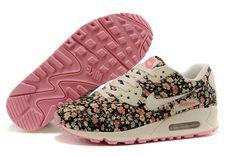 hot sale online 1af3e 5fe22 Nike Air Max 90 Spring Flowers Womens Denim Jasmine ...