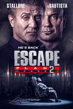 Years after he fought his way out of prison, Ray Breslin must return to the hell he once escaped from to save his friend from the prison's brutal human battleground, known as HADES. 2018 Movies, All Movies, Hades, Titus Welliver, Plane 2, Fanart Tv, Jamie King, Jesse Metcalfe, Dave Bautista