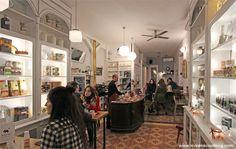 Juanse Kafe. Laboratorio de especialidades en Malasaña. San Vicente Ferrer, 32, Madrid. | http://www.juansekafe.com/