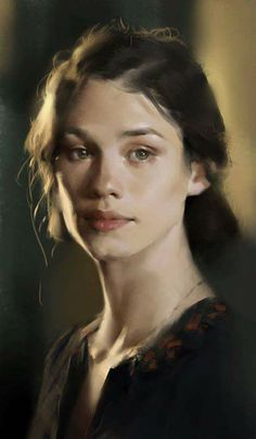 Gorgeous this portrait is so beautiful it's almost real Painting People, Figure Painting, Painting & Drawing, Pastel Portraits, Watercolor Portraits, Painting Portraits, Oil Portrait, Digital Portrait, Tattoo Grafik