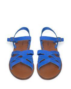 Aliya Roya Blue Sandals