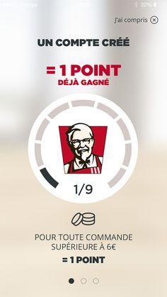 [On déguste] Kfc lance un programme de fidélité avec une application iphone / android - Fast and food @fastandfood