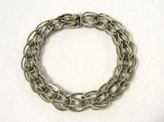 Antique vintage sterling silver Signed Elco by wandajewelry2013