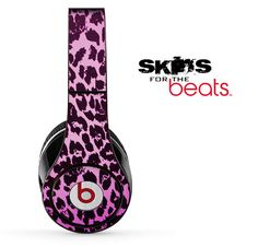 Neon Cheetah Print Skin for the Beats by Dre by TheSkinDudes, $19.99
