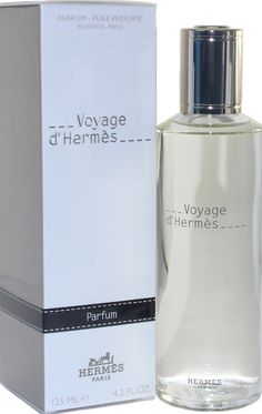 Voyage D'Hermes EDT Refillable - Has a warm spicy, citrus, floral, green, rose and amber notes. Perfume Fragrance, Best Perfume, Hermes Parfum, Green Rose, Bathing Beauties, Paris, Woody, Amber, Spicy