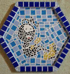 Peças em MDF com acabamento em Mosaico Ceramico
