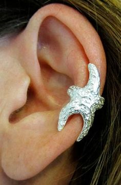 starfish earcuff. THIS IS SO COOL