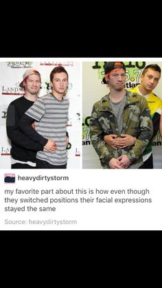 Josh is disturbed and Tyler is like nbd