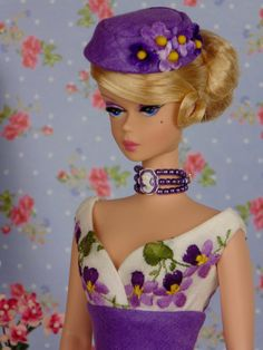 Ultra Violet for Barbie & Victoire Roux by HankieChic on Etsy