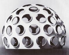 buckminster fuller's last prototype geodesic dome
