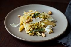 Pasta with Caramelized Cabbage, Sage Infused Brown Butter and Walnuts by cookinvictoria, food52 #Pasta #Brown_Butter