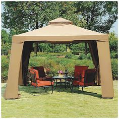 wilson fisher 11 39 x 11 39 pop up canopy with netting at big lots at the shore pinterest. Black Bedroom Furniture Sets. Home Design Ideas