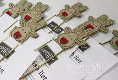 Rudolph Paper Clip video | Dawn's Stamping Thoughts | Bloglovin'