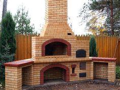 Чтобы построить хорошую печь-барбекю нужны руки, которые растут из «правильного места», нужен интерес к процессу и нужно терпение. Без кропотливой подгонки, кирпичика к кирпичику, нечего даже браться за строительство печи. Barbacoa, Pizza Oven Outside, Four A Pizza, Rocket Stoves, Door Design, Home Remodeling, Mansions, Decoration, House Styles