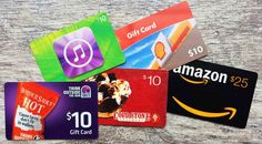 Get Your Free Gift Cards Today from the best online stores iTunes, Google Play…