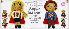 Super Teacher Girl and Boy