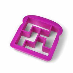 Puzzle piece sandwich, love this!
