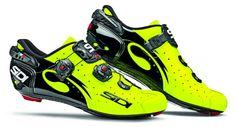 SIDI Wire Carbon Vernice Rennradschuhe Yellow Fluo 2016 - www.rider-store.de - Die ganze Welt der Bikes & Parts - Mountainbikes, MTB Rahmen und Mountainbike Zubehör von namhaften Herstellern wie Ghost, Pinarello, Yeti, Niner, Mavic und Fox