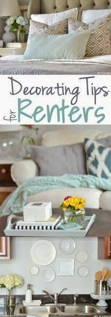 Make every place your home sweet home! Here are our tips to decorate a rental.