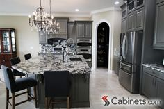 31 Best Gray Cabinets Images Kitchens Gray Cabinets Grey Cabinets
