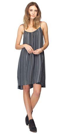 Gentle Fawn Aperture Dress   Carbon Stripe