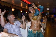 Sandra Nani Dance smiles for the camera. Dance World, Bikinis, Swimwear, Rave, Oriental, Style, Fashion, Bathing Suits, Raves