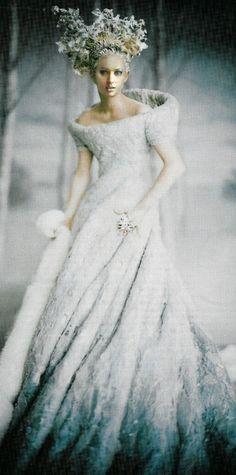 Reine des neiges...