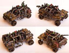 Brotherhood Of Nod, Buggy, Conversion, Hummer, Imperial Guard, Jeep, Land Runner, Land Speeder, Land Speeder Storm, Space Marines, Truck