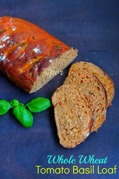 Wholewheat,Tomato Basil Loaf